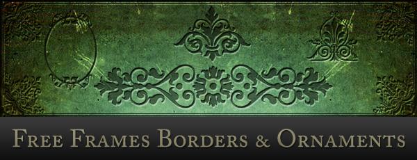 Vintage Border Frames