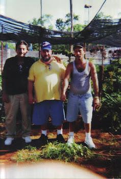 Lazaro Gonzalez Gonzalez, Aramis Gonzalez Gonzalez y Radames Gonzalez Gonzalez, Cuba, Junio 22 2003
