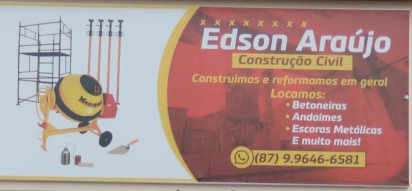 EDSON ARAÚJO Construção Civil