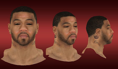 NBA 2K13 Kenyon Martin Cyberface Mod