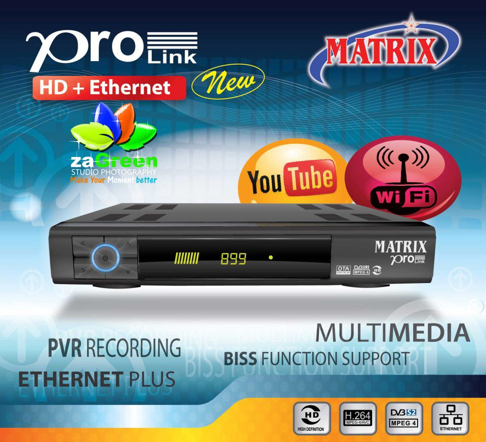 Cara input biss key di matrix hd ethernet new: