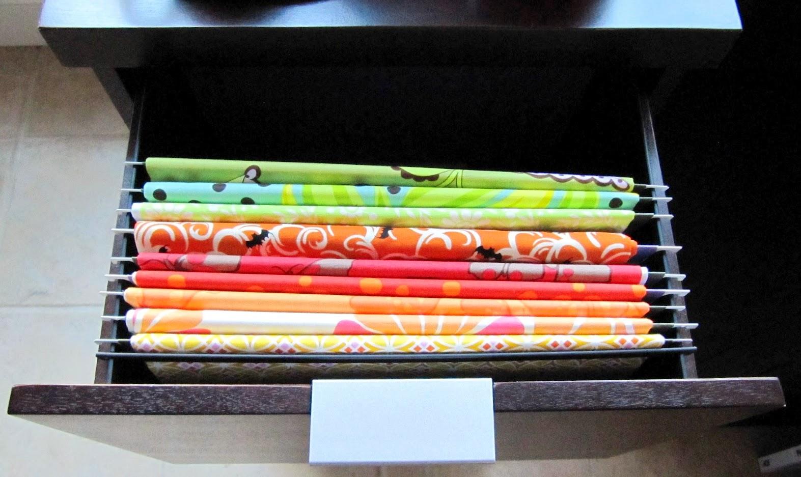 Tu Organizas.: 19 maneiras de organizar seus tecidos #BB5610 1573x937