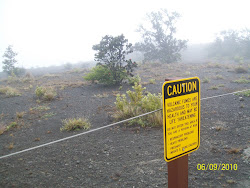 Active Volcano VOG on the Big Island