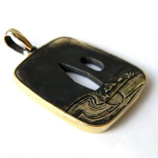 купить цубу украшения из бронзы латуни кулоны подвески подарок