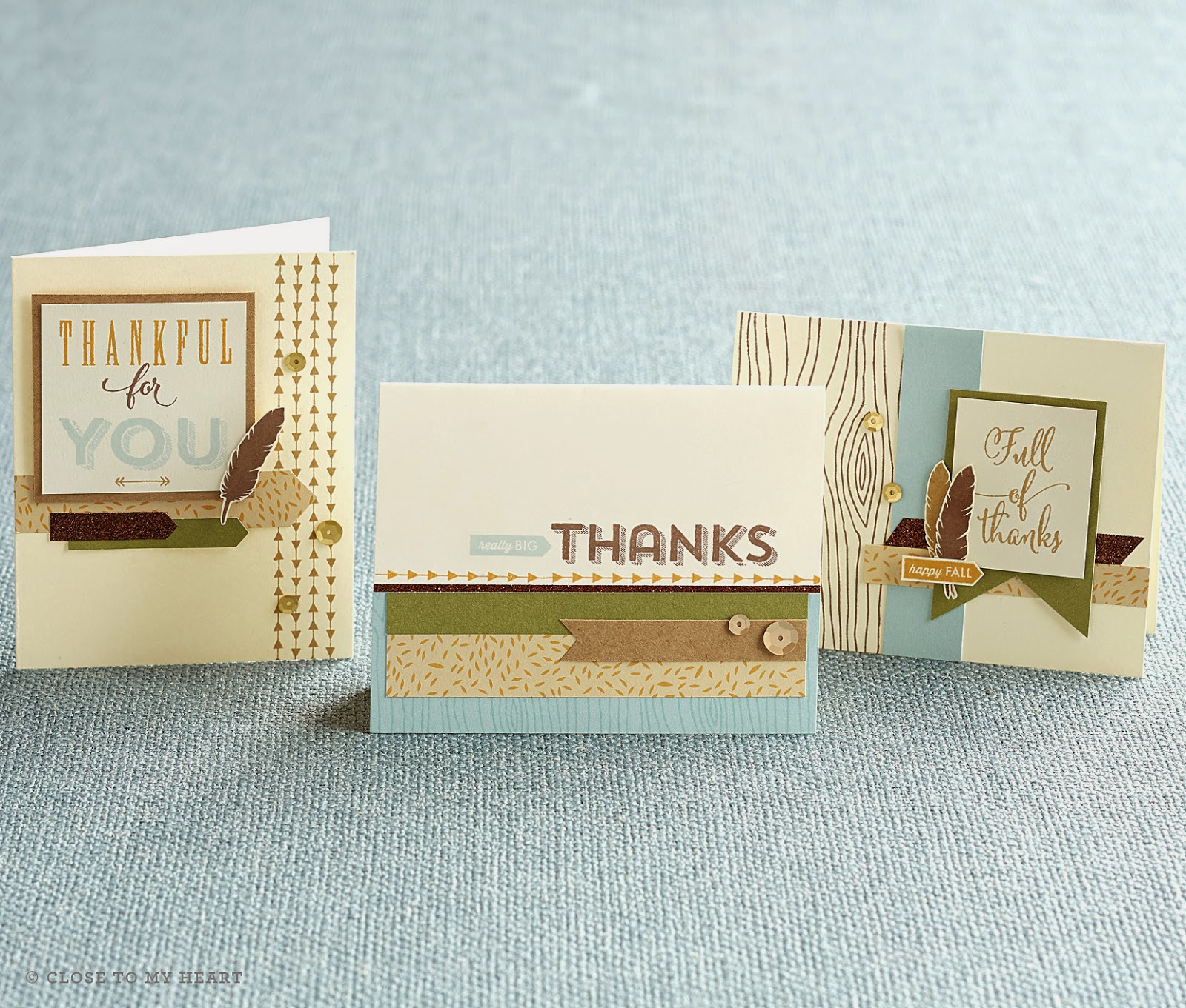 CTMH Fall Thank You Cards Pathfinding Kit