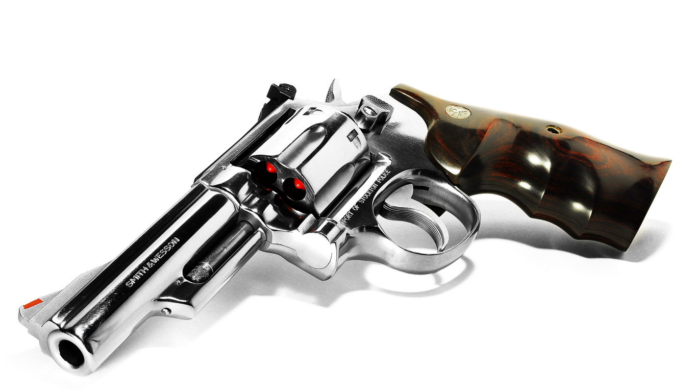 Smith Wesson Shining Gun HD Wallpaper