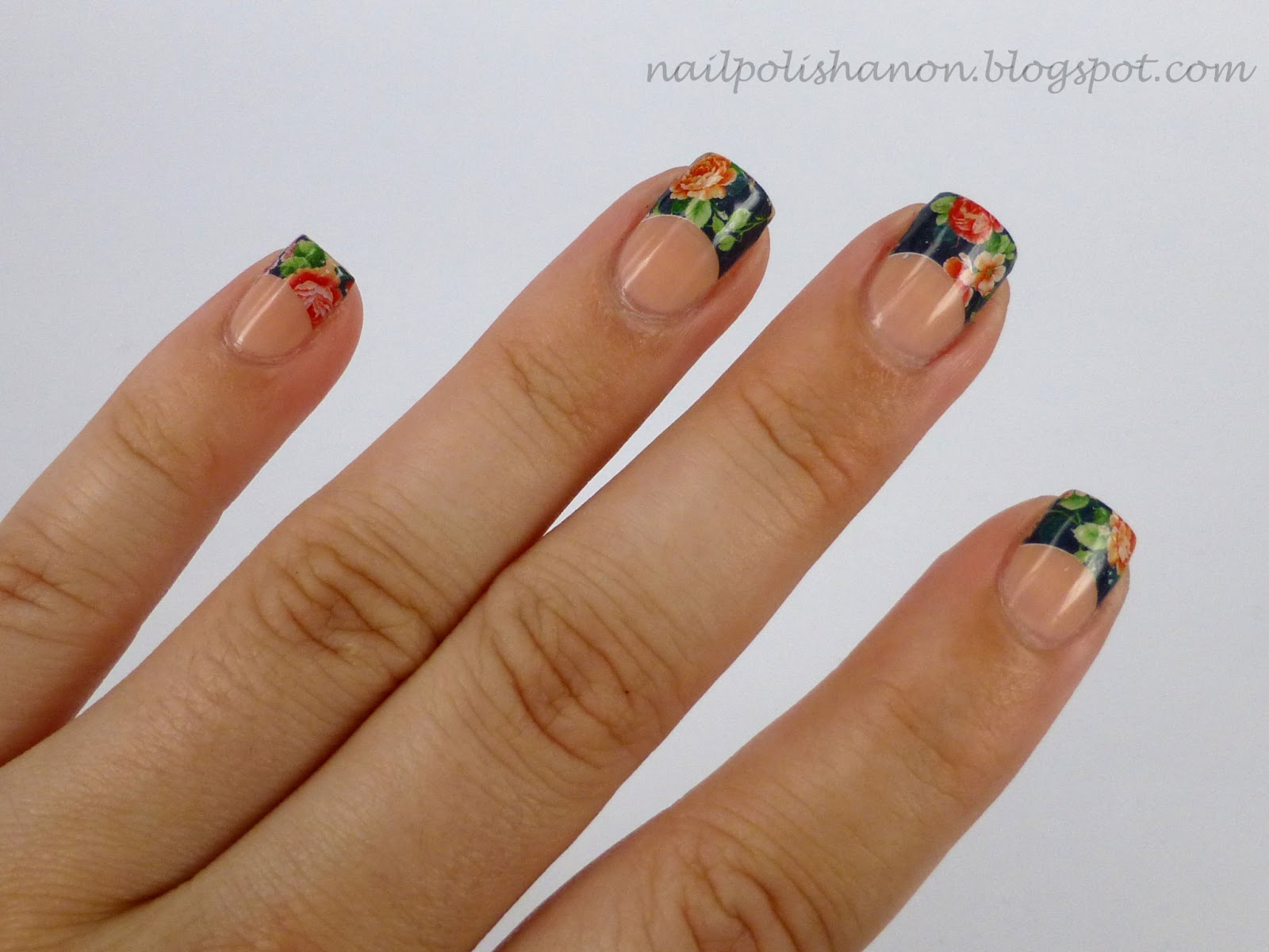 Nail Polish Anon: KKcenterHk French Water Decals Review