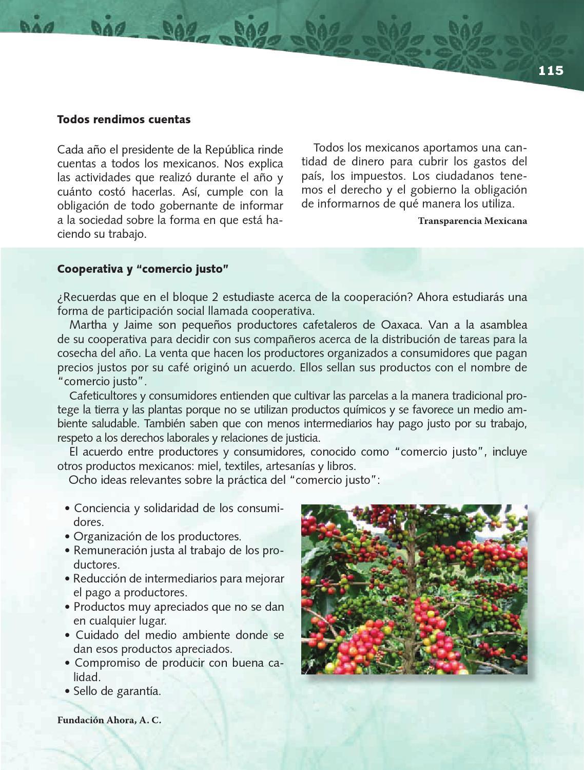 Para aprender más - Formación Cívica y Ética 4to Bloque 5 2014-2015