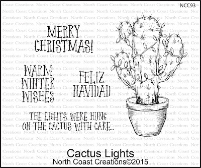 North Coast Creations Stamp set: Cactus Lights