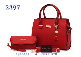 Tas KW Charles Victoria Taiga Semi Premium 2397CR Jakarta