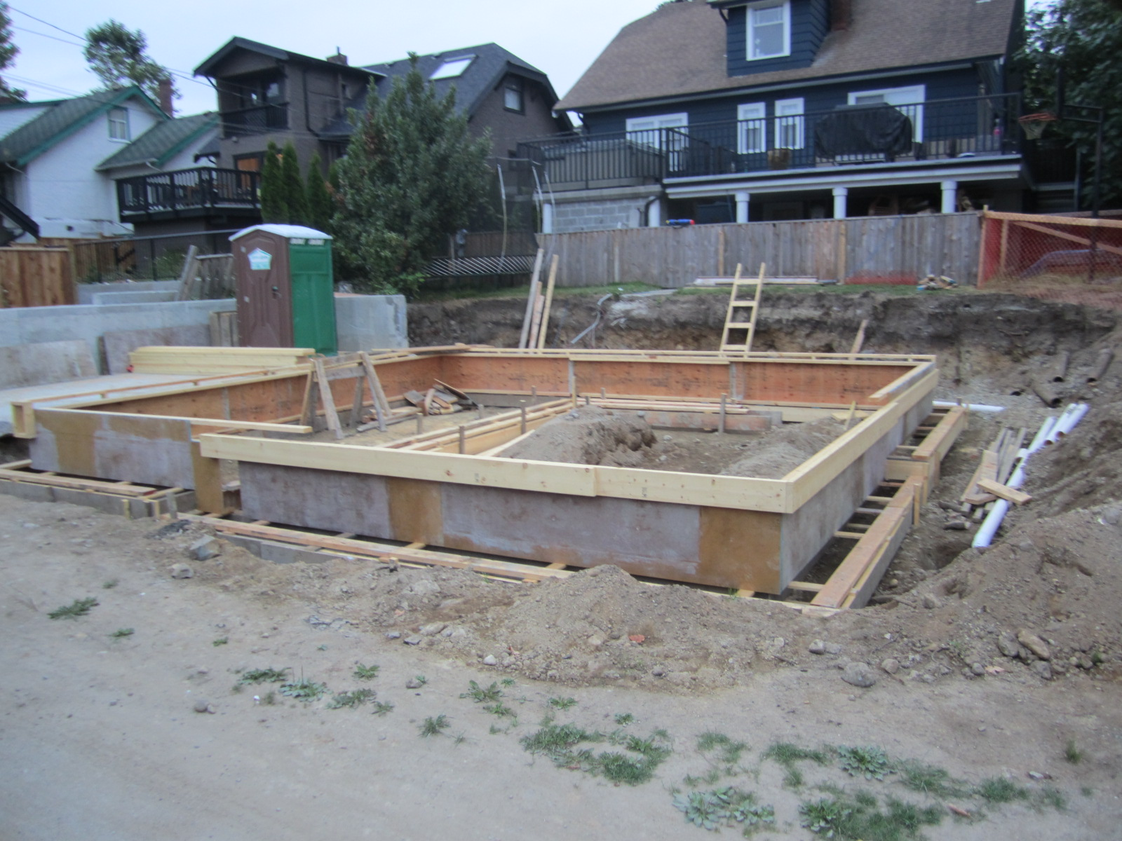 Ronse massey developments how to build a laneway house for Home foundation