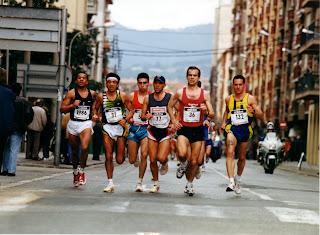 MARATON DE BARCELONA 1999