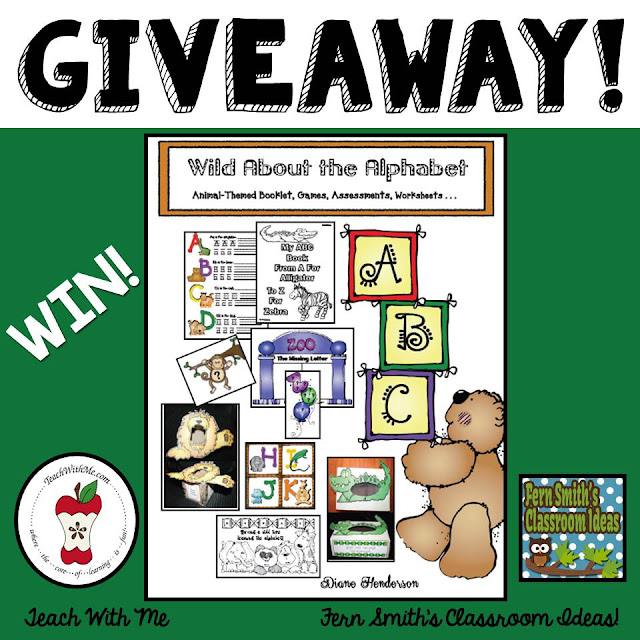 Click here for a chance to win WILD ABOUT THE ALPHABET!