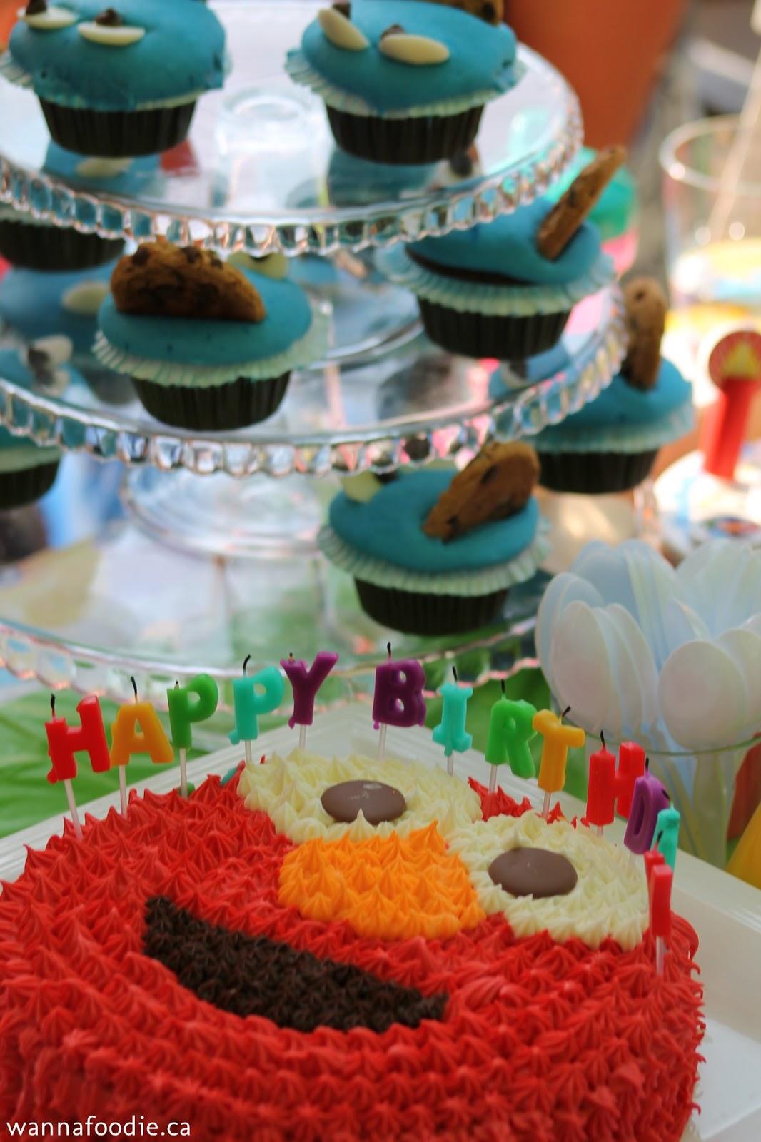 wannafoodie.ca: Emmas Elmo Birthday!