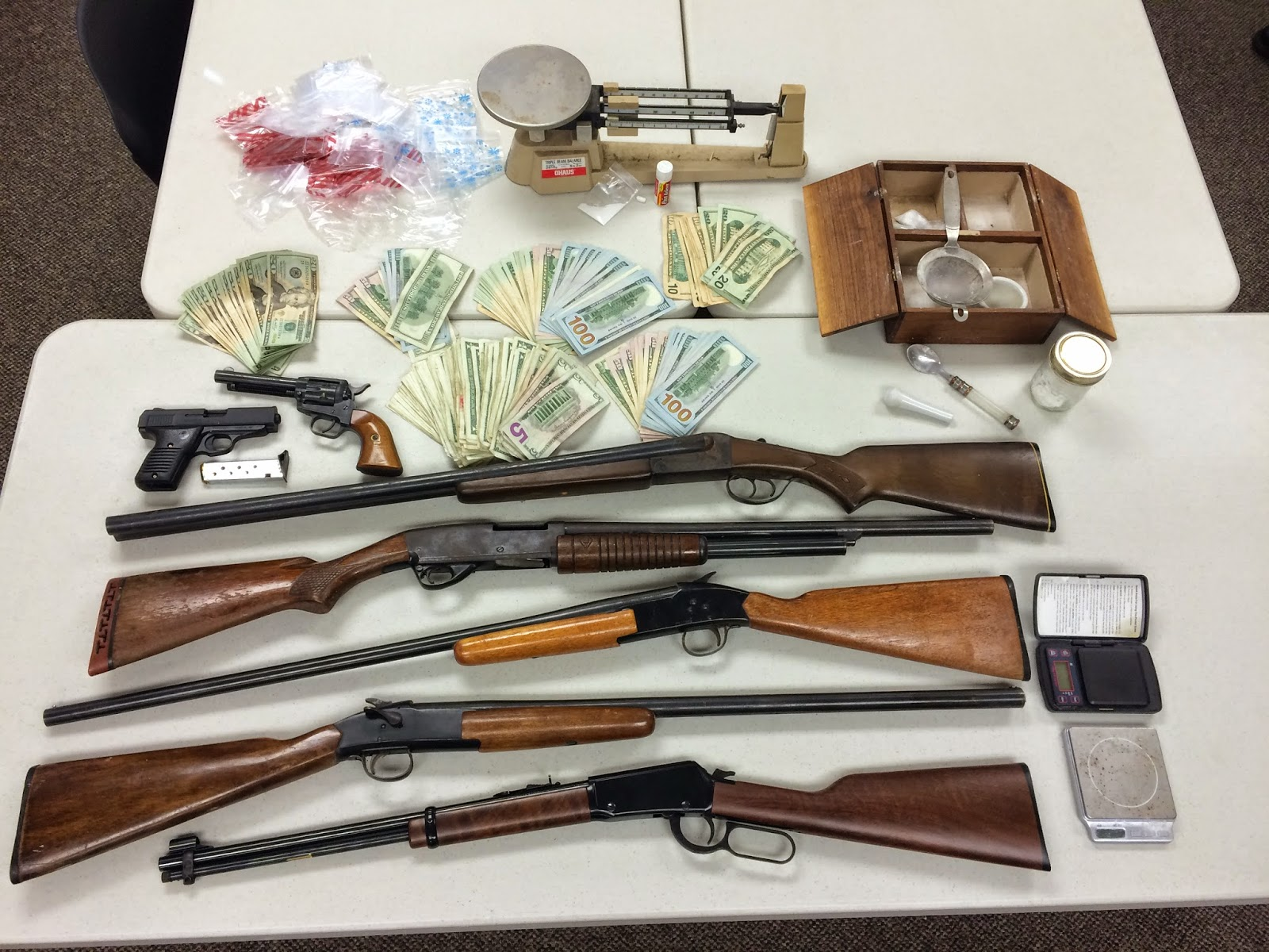 Darke County Cocaine Bust Yields Drugs Money Guns