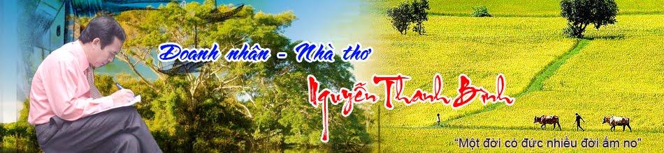 Nhà thơ Nguyễn Thanh Bình
