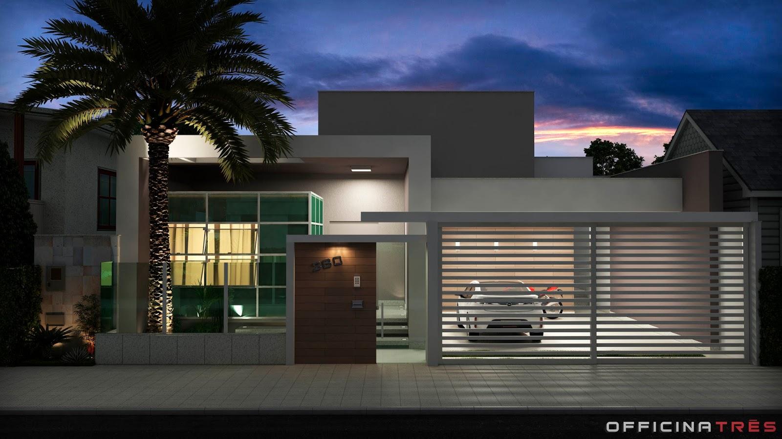 Officinatr s casa moderna em mutum mg - Modelo de casa modernas ...