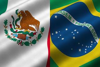 mexico y brasil