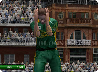 EA Sports Cricket 2007 PC Game| Shaun Pollock Bowling Reaction