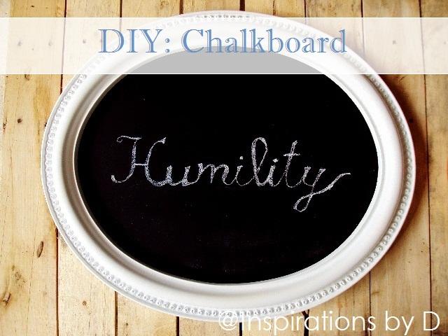 DIY: Chalkboard