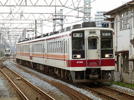 東武日光線・鬼怒川線 普通 新藤原行き 6050系