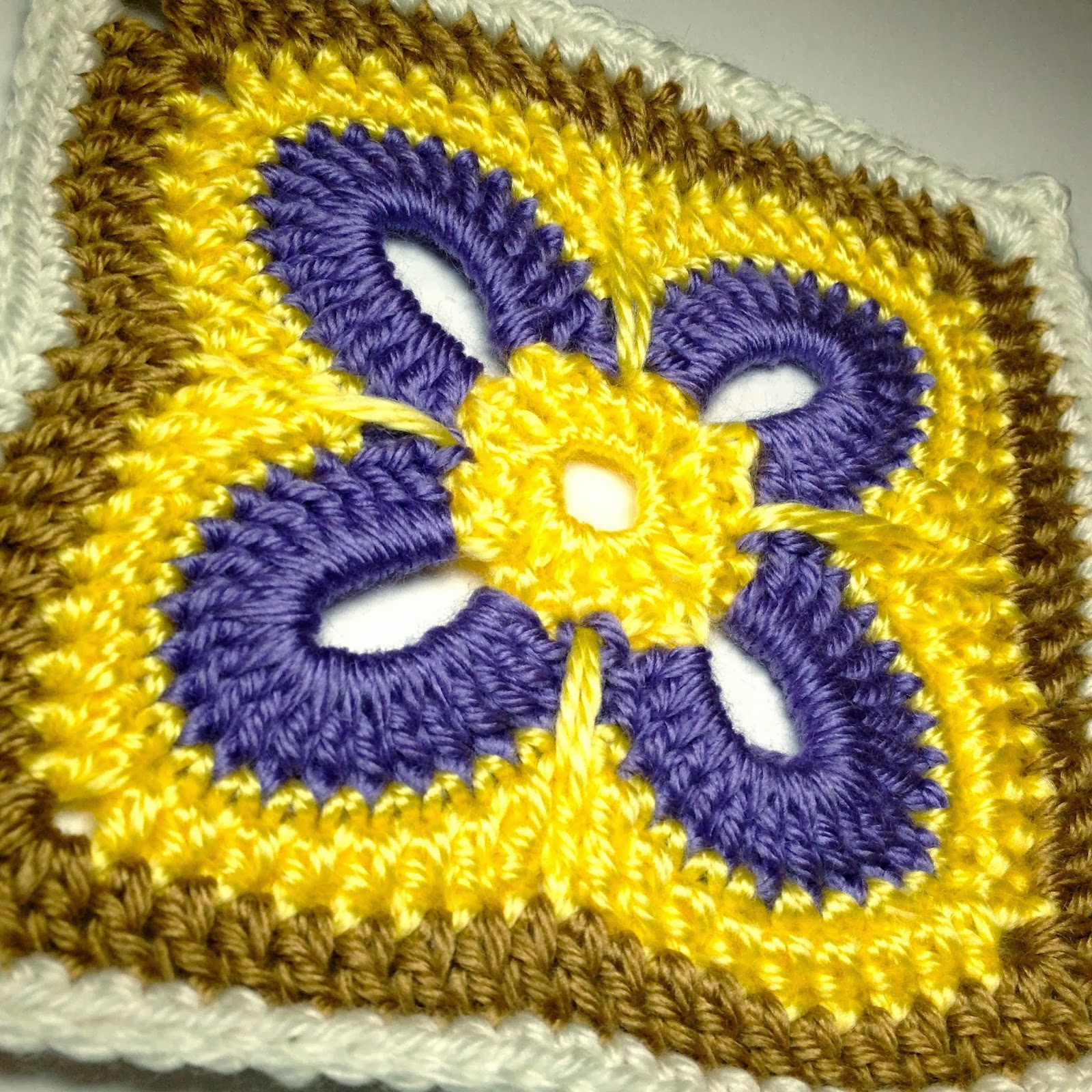 Free Crochet Patterns: Free Crochet Granny Square Motif ...