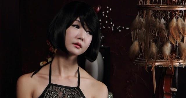 KONTES SEO: Korean Model Ahn Ji Young Fashion Photshoot