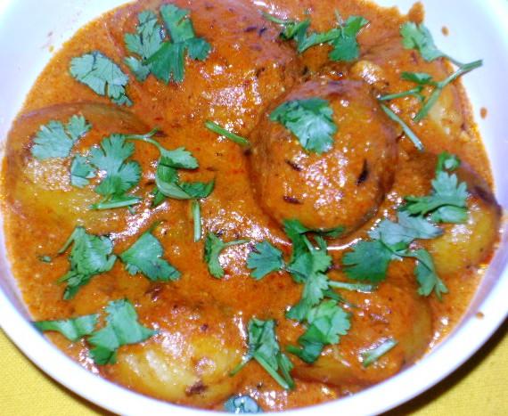 Kashmiri Dum Aloo - Cuisine delights