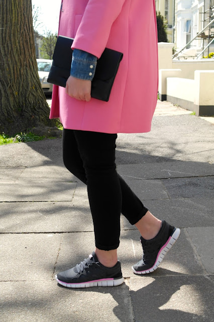 Zara Pink Coat by What Laura did Next