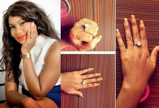 chita agwu engagement ring
