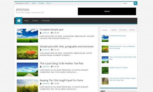 JPstation Blogger Teması