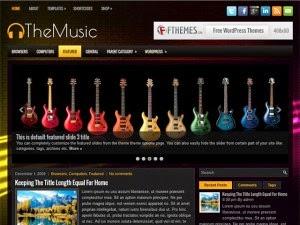 TheMusic - Free Wordpress Theme