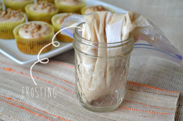 Vitamin packed healthier Carrot Cake Cupcakes!