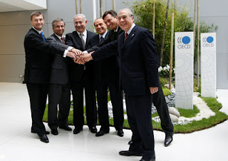 Israeli PM Netanyahu With Other Leaders