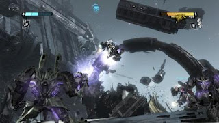 Screenshot ransformers: War for Cybertron