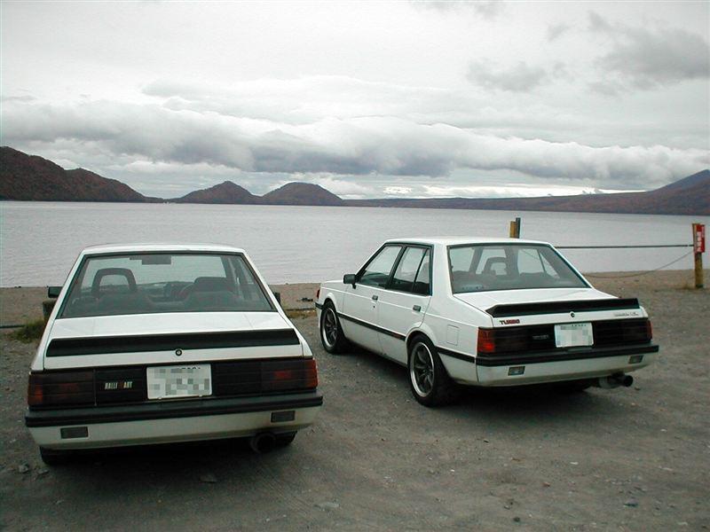 Mitsubishi Lancer II, 4G63, classic, stare sportowe samochody, napęd na tył