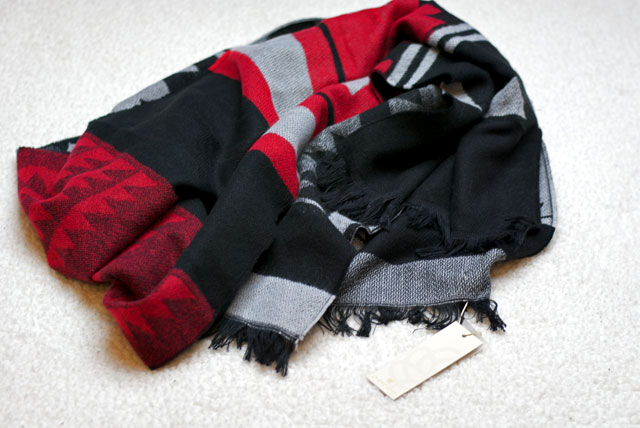 pieces scarf asport black firday sale