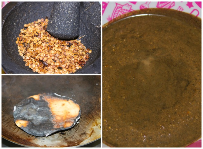 cómo preparar mole negro