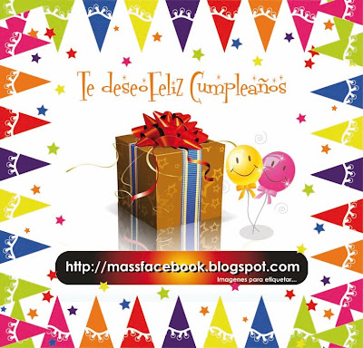 Te deseo feliz cumpleaos |  Imagen para etiquetar en FACEBOOK