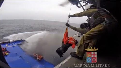 Marina Militare operazioni di recupero Norman Atlantic