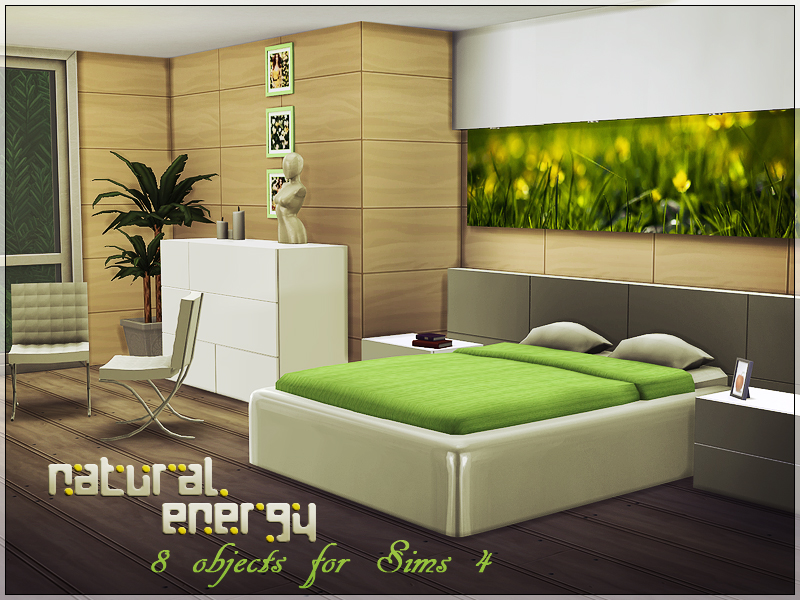 Sims studio natural energy s4 for Sims 4 bedroom ideas