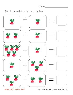 math worksheet : kidz worksheets preschool addition worksheet15 : Addition Worksheets For Preschoolers