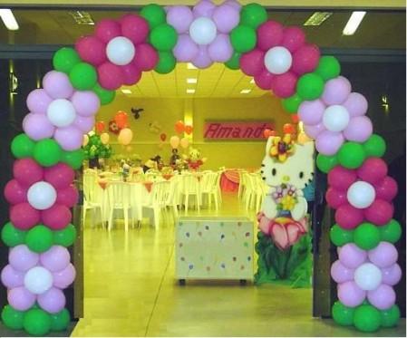D koraz n fiestas - Adornos con globos para fiestas ...