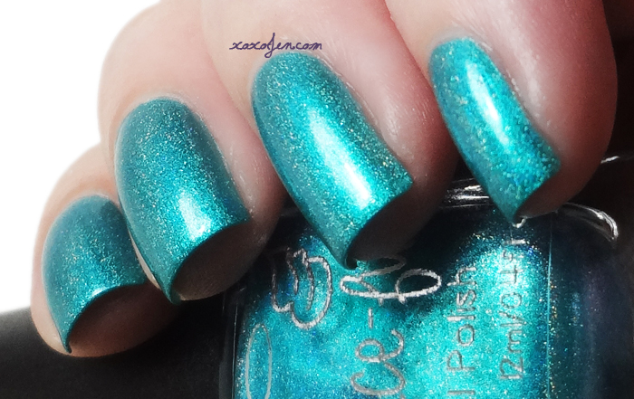 xoxoJen's swatch of Grace-full Amazonite Mermaid