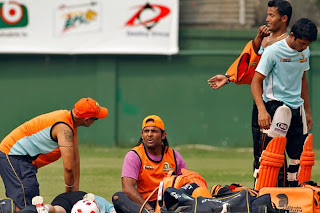 Dhaka Gladiators Practice session