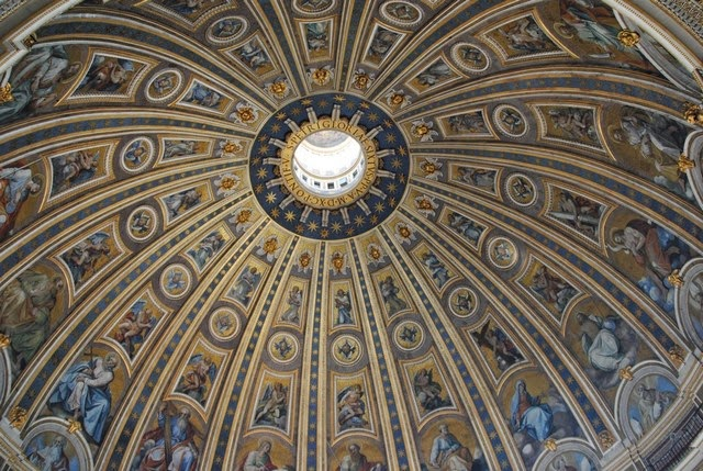 21. St. Peters Basilica (Rome, Italy)