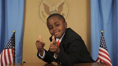 Kid president and President Obama