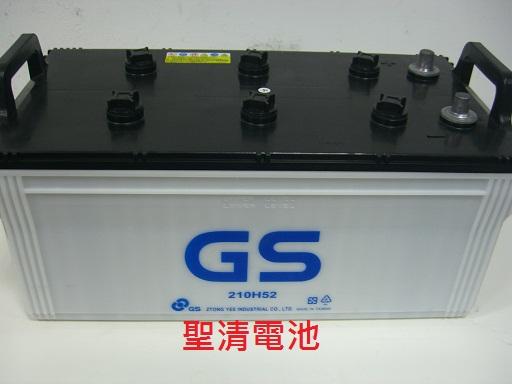 台中【逢甲電池】gs統力電池 115f51 N120 、145g51 N150 、210h52 N200加強 @聖清