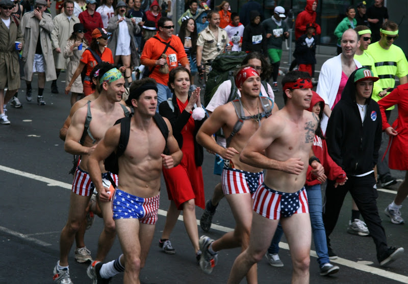 100th Bay to Breakers hunks