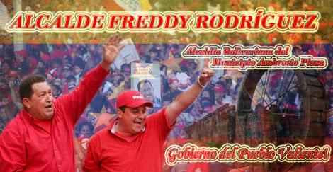"""Blog del Alcalde del Municipio Plaza """"Freddy Rodriguez"""""""